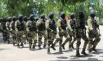 Swat team of Haiti's National Police (PNH).