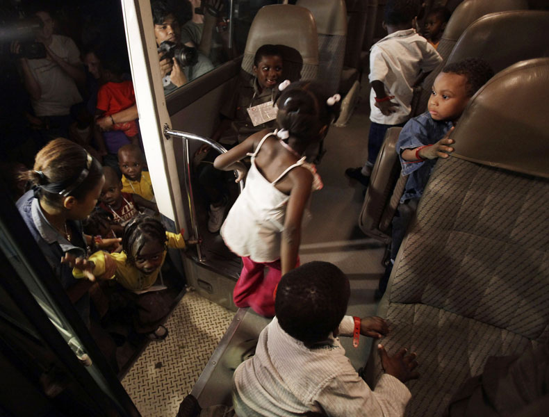 rencontre adoption haiti