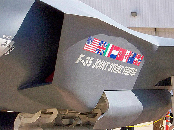 F-35 (Credit: Brandi Korte https://www.flickr.com/photos/branditressler/)