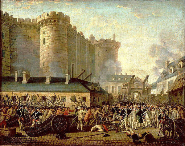 storming of bastille The initial root cause of the storming of the bastille, and the subsequent french revolution, was france's economy in the late 1700s,.