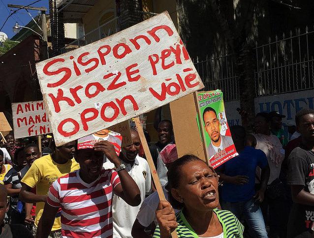 JacmelHaiti-protest