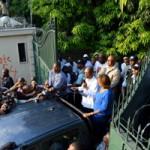 La mise-en-scène du retour d'Aristide et le choix de sa dauphine Maryse Narcisse en Haïti