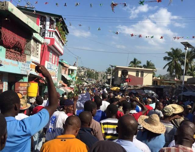 Haiti-5feb2016protest