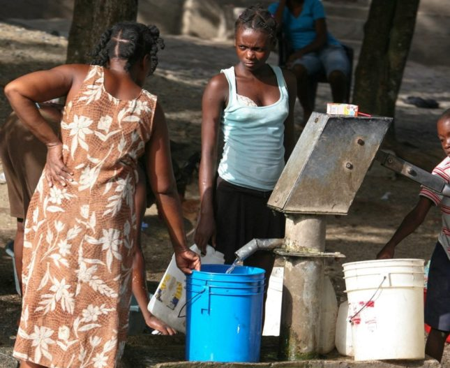 Haiti-Water-e